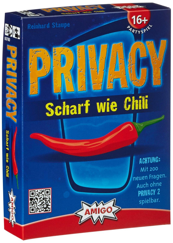 Privacy Scharf Wie Chili Fragen