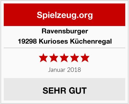 Ravensburger 19298 Kurioses Küchenregal Test