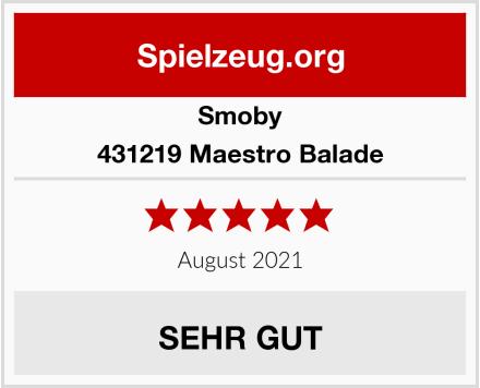 Smoby 431219 Maestro Balade Test