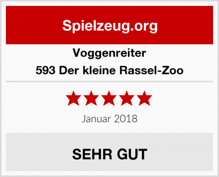 Voggenreiter 593 Der kleine Rassel-Zoo Test