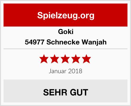 Goki 54977 Schnecke Wanjah Test