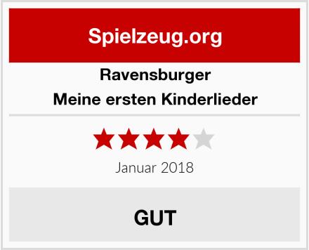 Ravensburger Meine ersten Kinderlieder Test