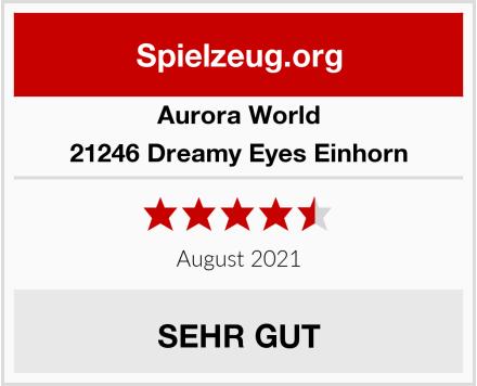 Aurora World 21246 Dreamy Eyes Einhorn Test