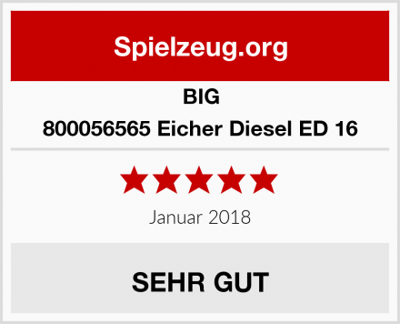 BIG 800056565 Eicher Diesel ED 16 Test