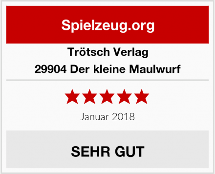 Trötsch Verlag 29904 Der kleine Maulwurf Test
