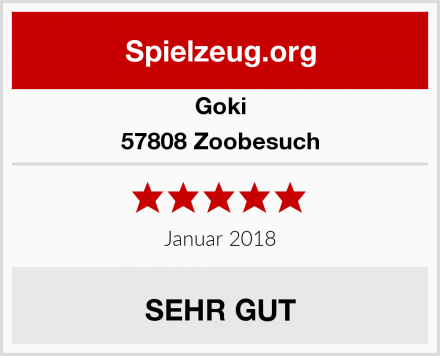 Goki 57808 Zoobesuch Test