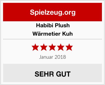 Habibi Plush Wärmetier Kuh Test