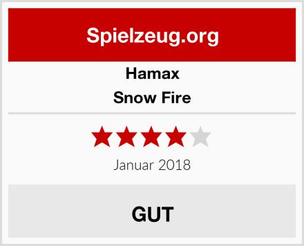 Hamax Snow Fire Test