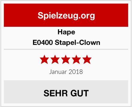Hape E0400 Stapel-Clown Test