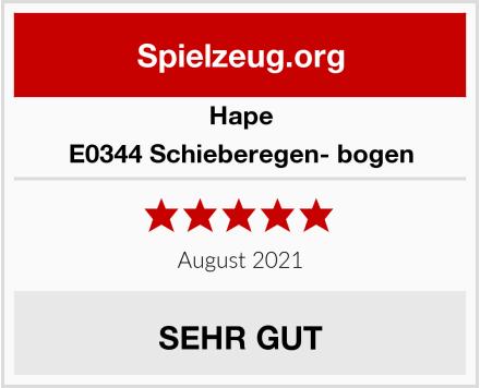 Hape E0344 Schieberegen- bogen Test