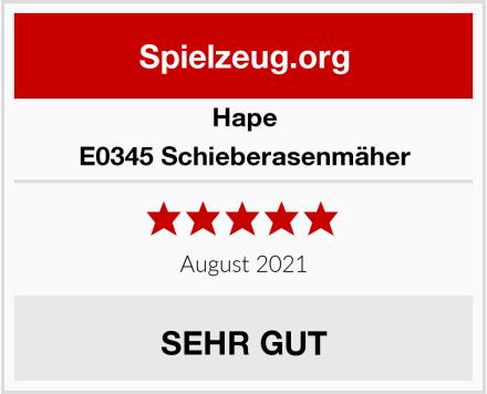 Hape E0345 Schieberasenmäher Test