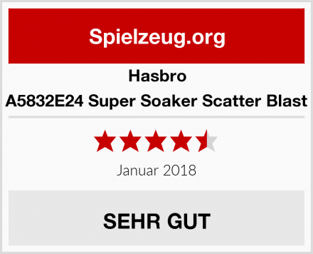 Hasbro A5832E24 Super Soaker Scatter Blast Test