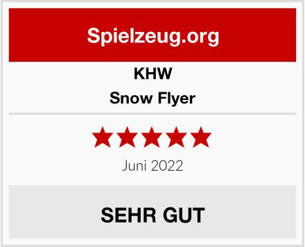KHW Snow Flyer Test