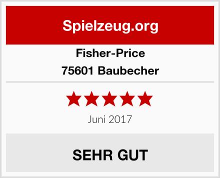 Fisher-Price 75601 Baubecher Test
