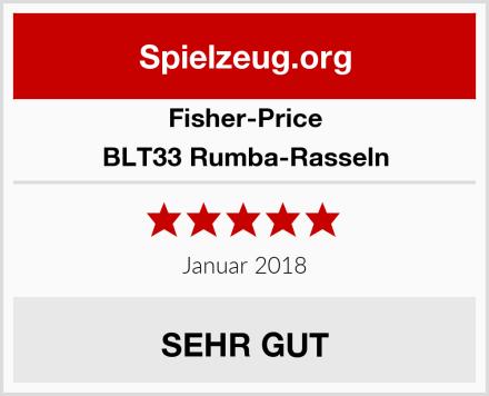 Fisher-Price BLT33 Rumba-Rasseln Test
