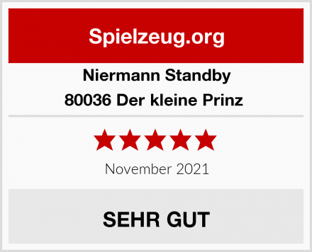 Niermann Standby 80036 Der kleine Prinz  Test