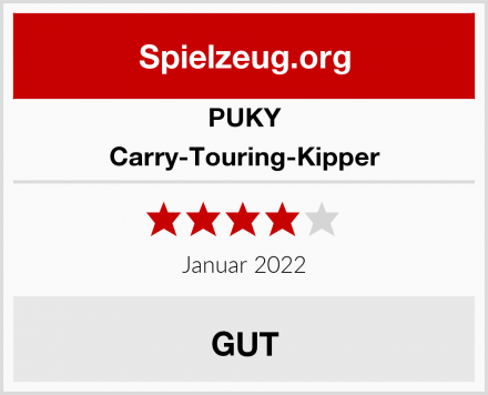 PUKY Carry-Touring-Kipper Test