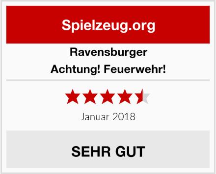 Ravensburger Achtung! Feuerwehr! Test