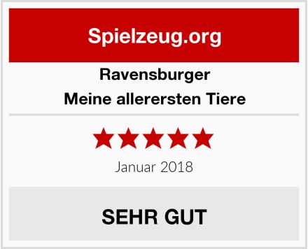 Ravensburger Meine allerersten Tiere Test