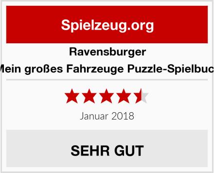 Ravensburger Mein großes Fahrzeuge Puzzle-Spielbuch Test