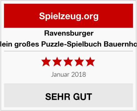Ravensburger Mein großes Puzzle-Spielbuch Bauernhof  Test