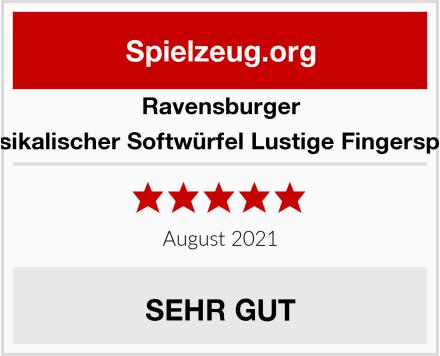 Ravensburger Musikalischer Softwürfel Lustige Fingerspiele Test