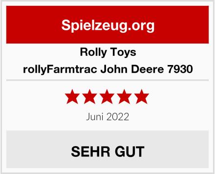 Rolly Toys rollyFarmtrac John Deere 7930 Test