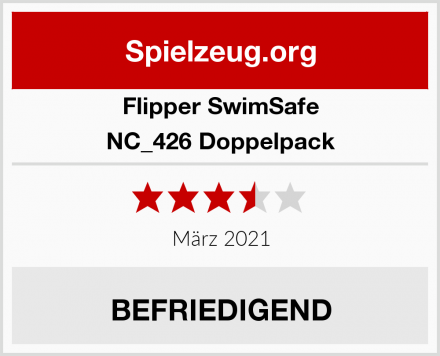 Flipper SwimSafe NC_426 Doppelpack Test