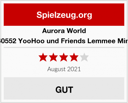Aurora World 60552 YooHoo und Friends Lemmee Mini Test