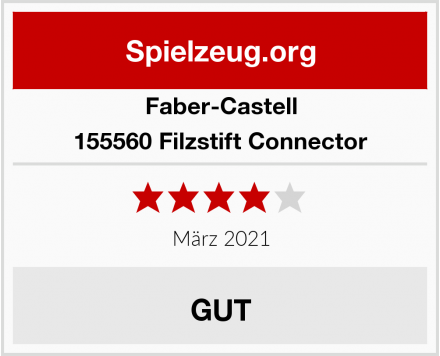 Faber-Castell 155560 Filzstift Connector Test