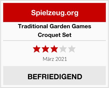 Traditional Garden Games Croquet Set Test