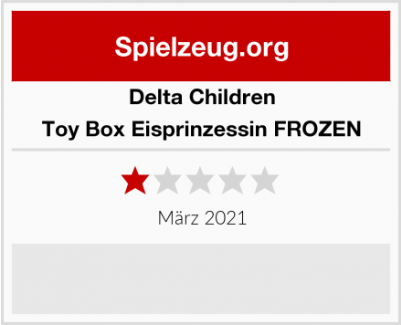 Delta Children Toy Box Eisprinzessin FROZEN Test