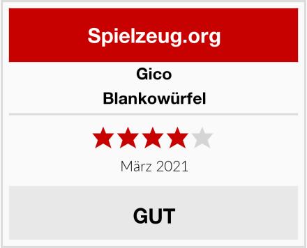 GICO Blankowürfel Test