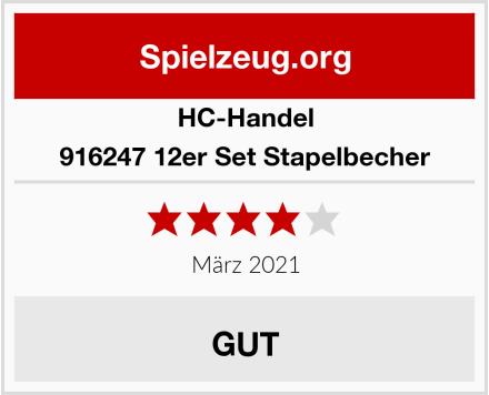 HC-Handel 916247 12er Set Stapelbecher Test
