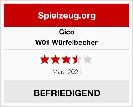 GICO W01 Würfelbecher Test
