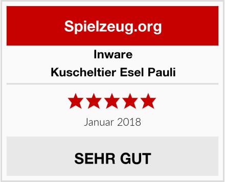 Inware Kuscheltier Esel Pauli Test