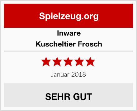 Inware Kuscheltier Frosch Test