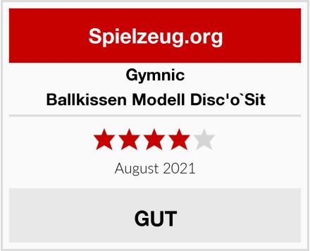 Gymnic Ballkissen Modell Disc'o`Sit Test