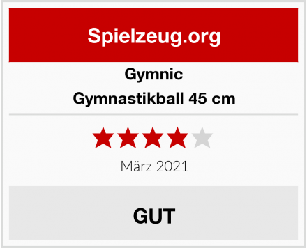 Gymnic Gymnastikball 45 cm Test