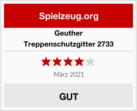 Geuther Treppenschutzgitter 2733 Test