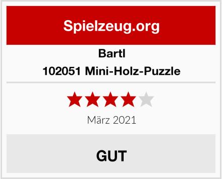 Bartl 102051 Mini-Holz-Puzzle Test