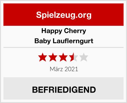 Happy Cherry Baby Lauflerngurt Test