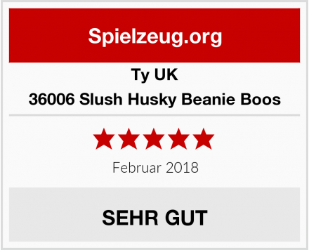 Ty UK 36006 Slush Husky Beanie Boos Test