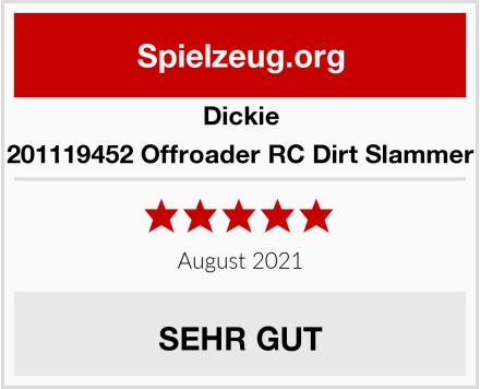 Dickie 201119452 Offroader RC Dirt Slammer Test