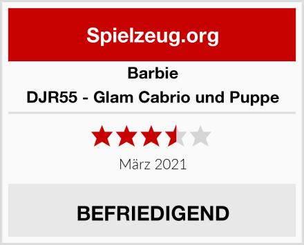 Barbie DJR55 - Glam Cabrio und Puppe Test