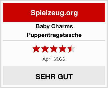 Baby Charms Puppentragetasche Test