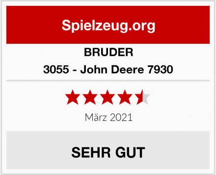 BRUDER 3055 - John Deere 7930 Test