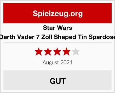 Star Wars Darth Vader 7 Zoll Shaped Tin Spardose Test