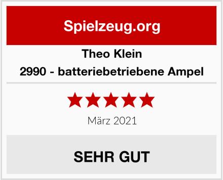 Theo Klein 2990 - batteriebetriebene Ampel Test
