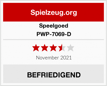 Speelgoed PWP-7069-D Test